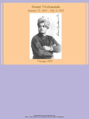 Complete Works of Swami Vivekananda Book Volume 1